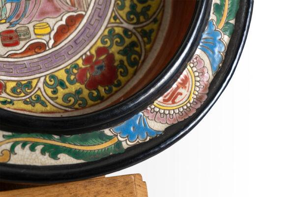 古畫碗盤 C202000002 右