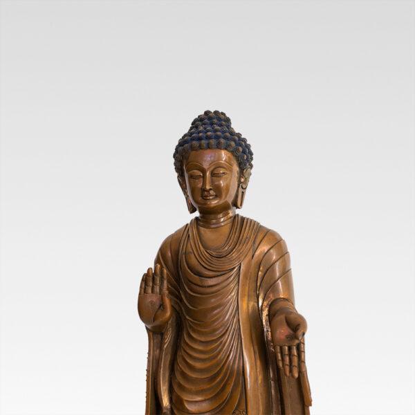 銅釋迦牟尼佛 S202000009 上