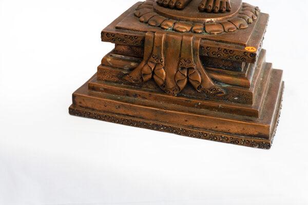 銅釋迦牟尼佛 S202000009 下