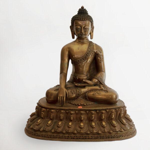 鎏金銅釋迦牟尼佛 S202000010