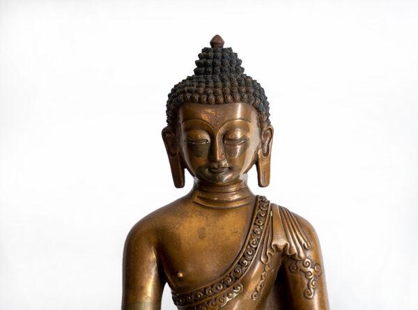 鎏金銅釋迦牟尼佛 S202000010 上