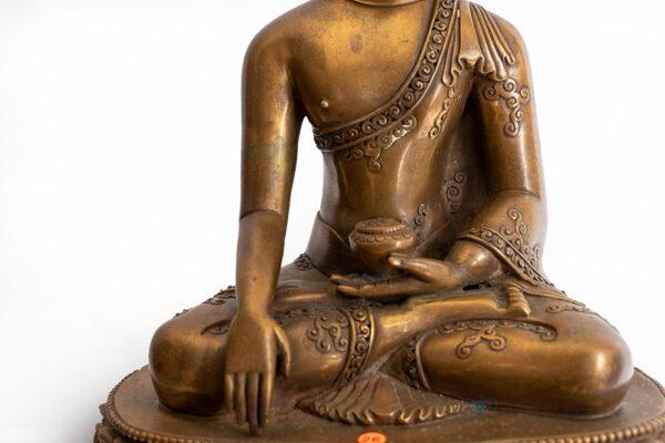 鎏金銅釋迦牟尼佛 S202000010 中