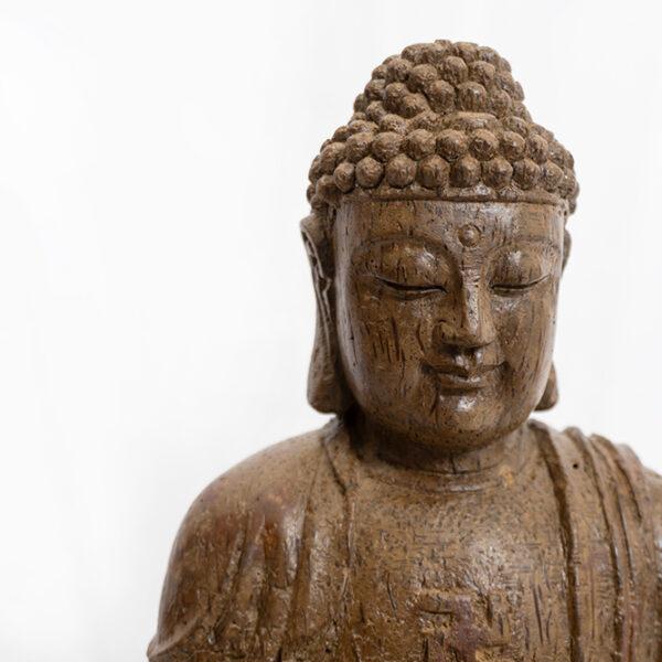 木雕釋迦牟尼佛 S202000015 上