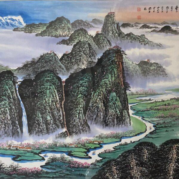 周智慧 錦綉江山竟朝暉 P202000006